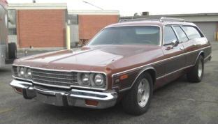 1974 Dodge Coronet Crestwood Wagon