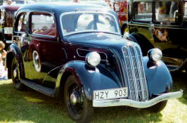 1937 - 1939 Ford Ten