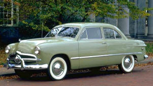 1949 Ford V8 Custom Club Coupe