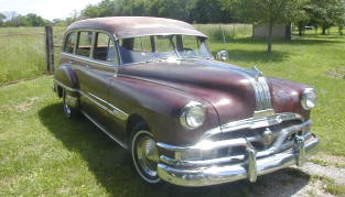 1952 Pontiac Chieftain Wagon