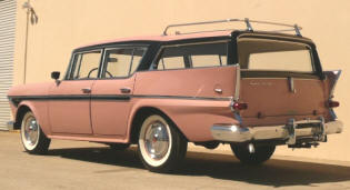 1958 Rambler Rebel Cross Country Station Wagon