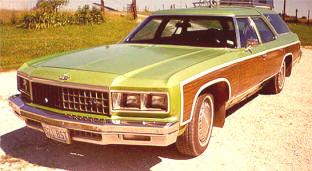 1977 Chevrolet Caprice Classic Station Wagon