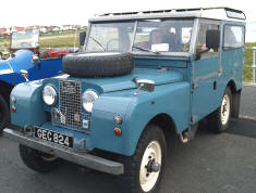 1956 - 1958 Land Rover Station Wagon