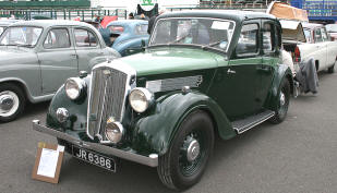 1936 - 1937 Wolseley 10/40 Series II