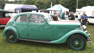 1935 - 1936 Rover 14hp Streamline Coupe