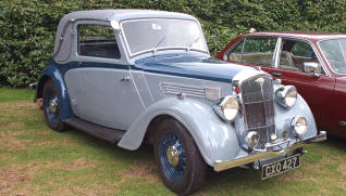 1936 - 1937 Wolseley 12/48 Coupe Series II