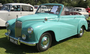 1951 - 1954 Lanchester LJ201 Convertible