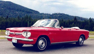 1962 Chevrolet Corvair Monza Convertible