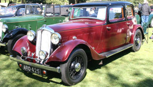 1934 - 1940 Rover 14hp Sports Saloon