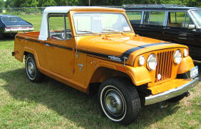 1967 - 1972 Jeep Commado Pickup