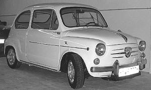 Abarth Fiat 1000 TC Berlina Corsa 1960 - 65