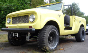 1963 - 1971 International Scout 80