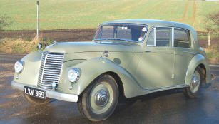 Armstrong Siddeley Whitley  1950 - 53