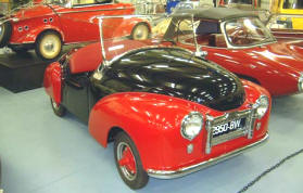 1950 - 1951 Atlas CA175 Microcar