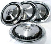 Chrome Hubcaps Classic Cars