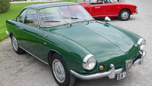 Abarth Fiat 850 Coupe 1959 - 61