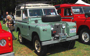 1958 - 1972 Land Rover Series II