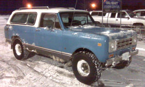 1977 International Scout Traveller