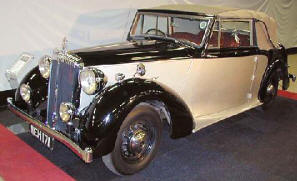 1947 Daimler Drophead Coupe Charlesworth