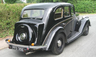 1935 - 1937 Wolseley Super Six II Saloon